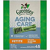 Greenies Aging Care Dental Chew Treat Petite 27oz