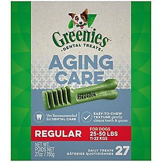 Greenies Aging Care Dental Chew Treat Regular 27oz