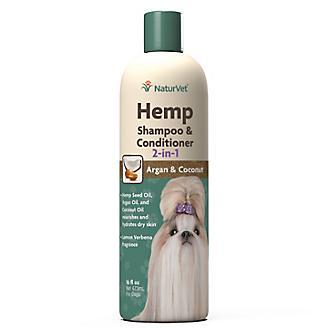 NaturVet Hemp 2 in 1 Dog Shampoo/Conditiioner