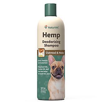 NaturVet Hemp Deodorizing Shampoo for Dogs