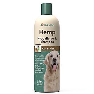 NaturVet Hemp Hypoallergenic Shampoo for Dogs