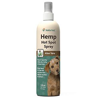 NaturVet Hemp Hot Spot Spray for Dogs
