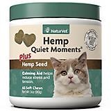 NaturVet Hemp Quiet Moments Cat Soft Chews 60ct