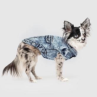 Canada Pooch Downtown Denim Dog Vest