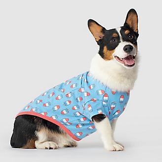 Canada Pooch Rocket Popsicles Follow Me Dog Tee