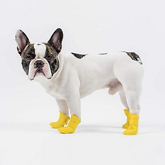 Canada Pooch Yellow Wellies Dog Boots