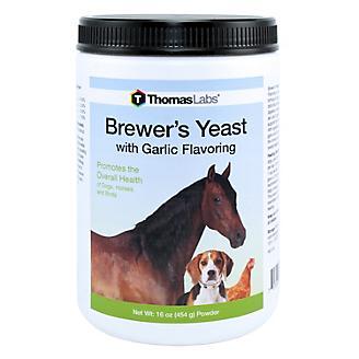 Thomas Labs Brewers Yeast Garlic 16oz Powder