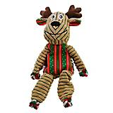 KONG Holiday Floppy Knots Large Reindeer Dog Toy