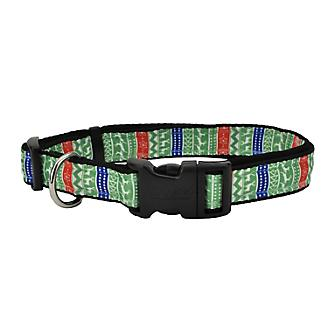 Ugly Sweater Holiday Dog Collar