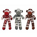 Nordic Monkey Dog Toy 10 Inch