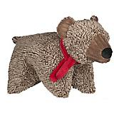 Hugglehounds Cozy Cottage Bear Squooshie Dog Toy