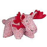 Hugglehounds Cozy Cottage Moose Squooshie Dog Toy