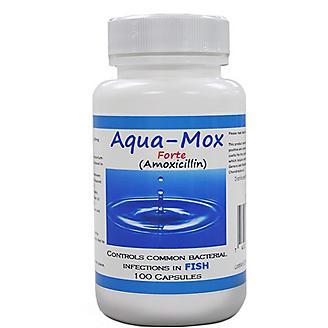 Aqua Mox Forte 500mg Capsules 100 Count