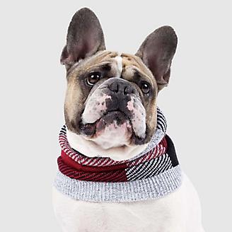 Canada Pooch Northern Knit Plaid Dog Snood