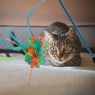 KONG Laser Teaser Ribbons Cat Toy