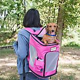 Armarkat Pink/Gray Pawfect Pets Backpack Carrier