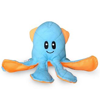 Fetch Pet Ocean Buddies Blue Squid Dog Toy