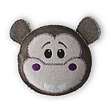 Fetch Pet Thread Heads Hippo Dog Toy