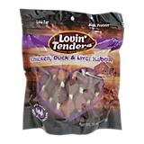Lovin Tenders Chicken/Duck/Liver Kabob Dog Treat