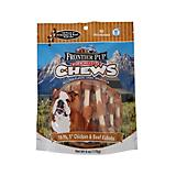 Frontier Pup Chicken/Beef Kabob Dog Treat 10pk