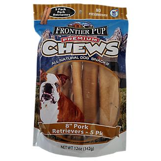 Frontier Pup Pork Retriever Dog Treat 5 Pack