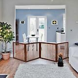Richell Dark Brown Wooden Room Divider