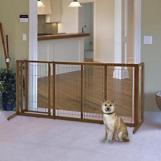 Richell Deluxe Freestanding Pet Gate