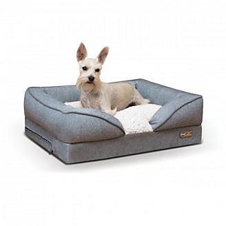 KH Mfg Gray Pillow Top Orthopedic Pet Bed