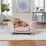 Enchanted Home Pet Romy Blush Pet Sofa