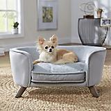 Enchanted Home Pet Romy Grey Pet Sofa