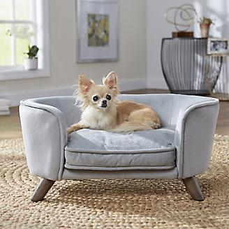 Enchanted Home Pet Romy Grey Pet Sofa