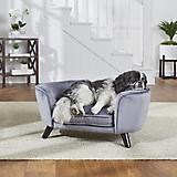 Enchanted Home Pet Romy Pewter Pet Sofa