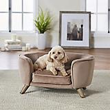 Enchanted Home Pet Romy Beige Pet Sofa