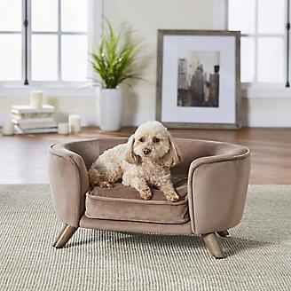 Enchanted Home Pet Romy Beige Pet Sofa