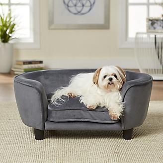 Enchanted Home Pet Coco Dark Grey Pet Sofa