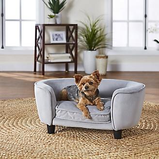 Enchanted Home Pet Coco Light Grey Pet Sofa