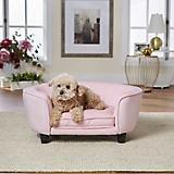 Enchanted Home Pet Coco Pink Pet Sofa