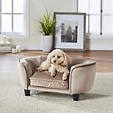 Enchanted Home Pet Coco Beige Pet Sofa