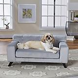 Enchanted Home Pet Mason Grey Pet Sofa