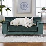 Enchanted Home Pet Martine Emerald Pet Sofa