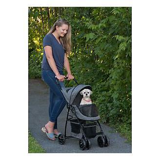 Pet Gear Happy Trails Dark Platinum Pet Stroller