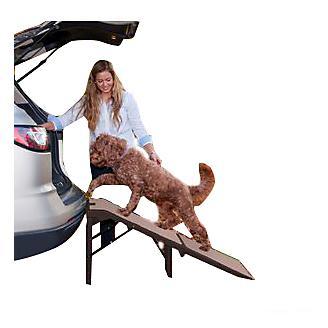 Pet Gear Free Standing Extra Wide SupertraX Ramp