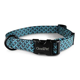 Attitudz Blue Bones Waterproof Dog Collar