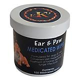 E3 K9 Ear/Paw Medicated Pet Wipes 100 Count