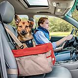 Kurgo Heather Nutmeg Barn Red Pet Booster Seat