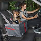 Kurgo Journey Gray/Chili Red Pet Booster Seat