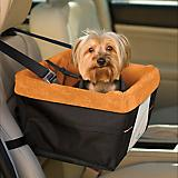 Kurgo Skybox Black/Orange Pet Booster Seat