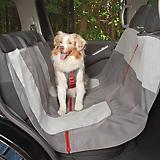 Kurgo Journey Gray/Chili Red Car Hammock