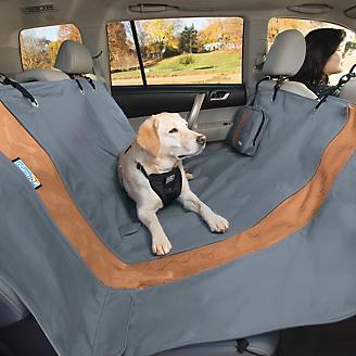 Kurgo Charcoal Gray Extended Car Hammock