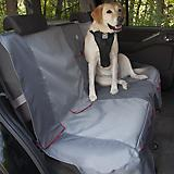 Kurgo Journey Gray/Chili Red Bench Seat Cover